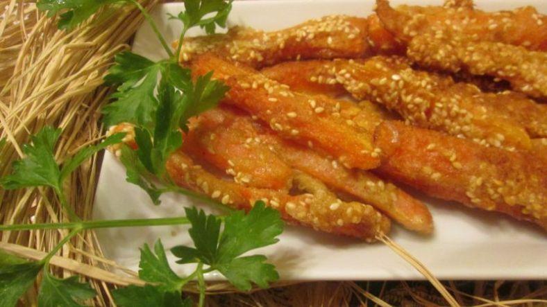 2 - панирани моркови