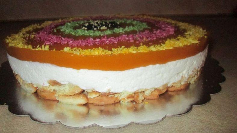 2 - торта със сметана и тиква