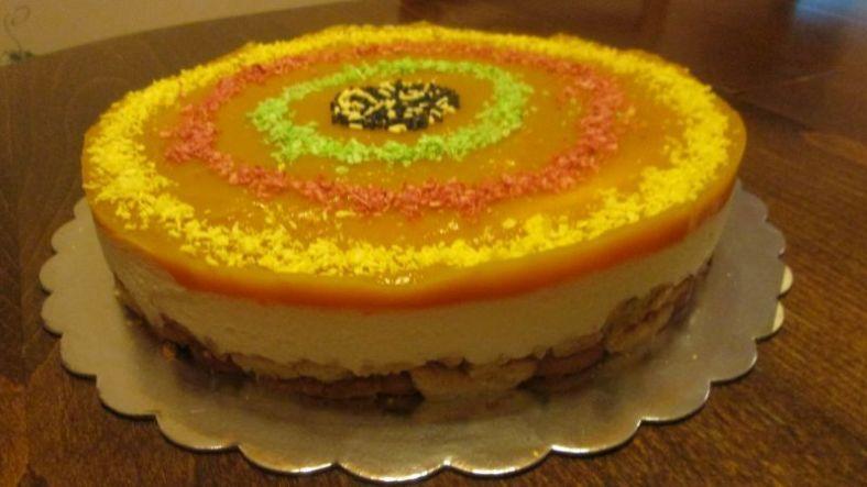 3 - торта със сметана и тиква