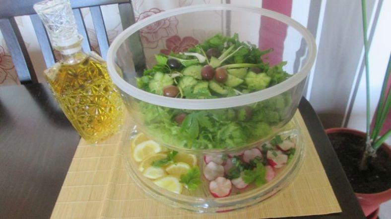 3 - зелена салата