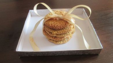 4 -овесени бисквити
