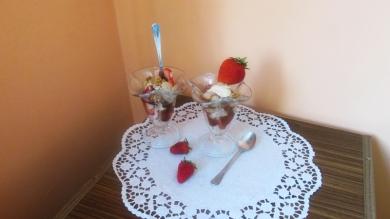 2 - сладолед със сметана и тиква